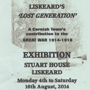 liskeards lost generation Stuart House