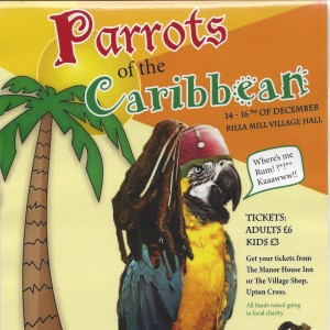 parrots of the caribean poster